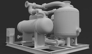 3D pressure tank