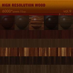 High Resolution Wood Textures Vol. 9 ( 5 PCS )