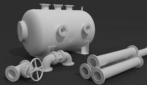 3D pipe pressure