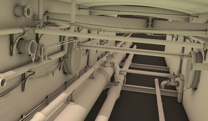 pipe sewer 3D