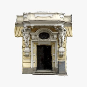 3d ma door 3 - old house