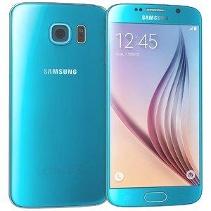 3d samsung galaxy s6 blue
