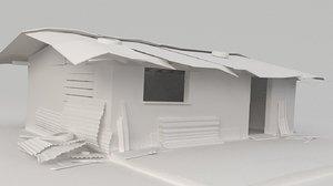 slum shed 3D model
