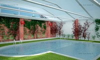 3d indoor pool swimming