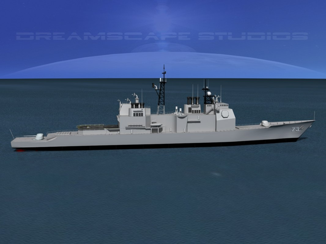 3d ticonderoga class cruiser
