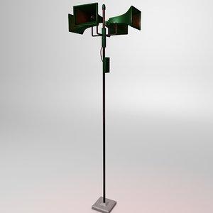 nuclear siren 3d model