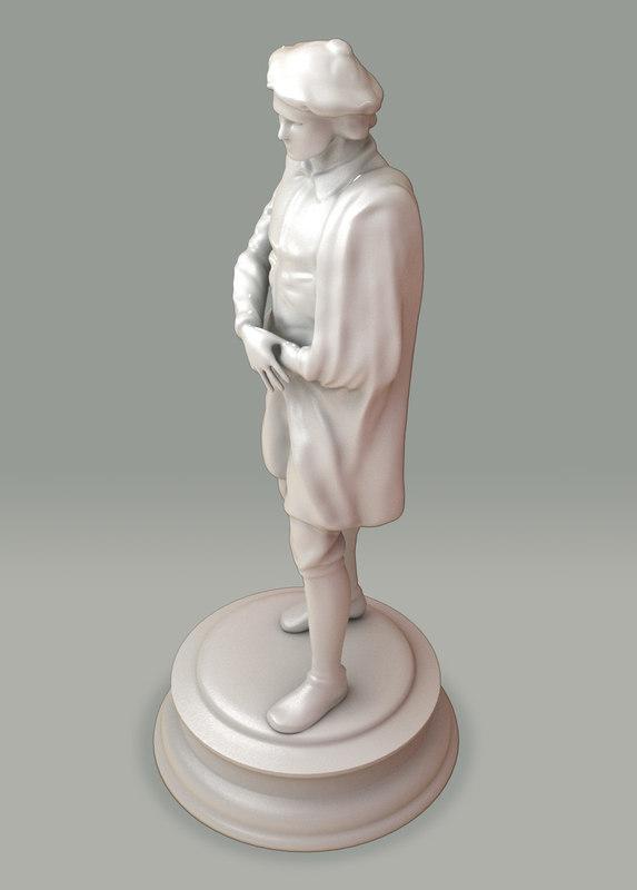 3d statue arts