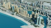 dubai city 3d max