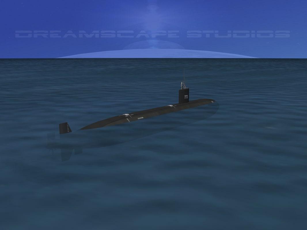 obj ship los angeles class submarine