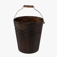 old bucket 3d 3ds