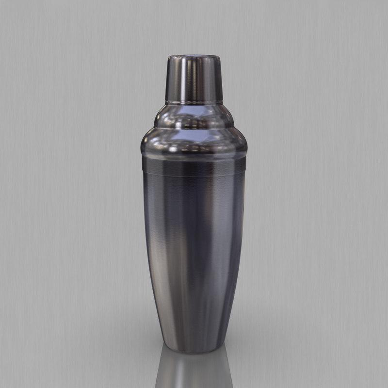 3dsmax cocktail shaker