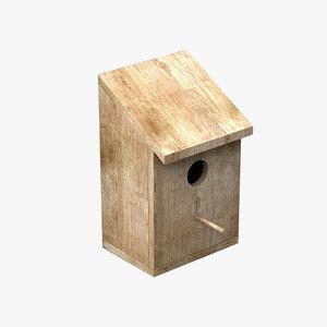 house bird 3d 3ds