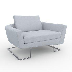 sculpt club chair armchair max