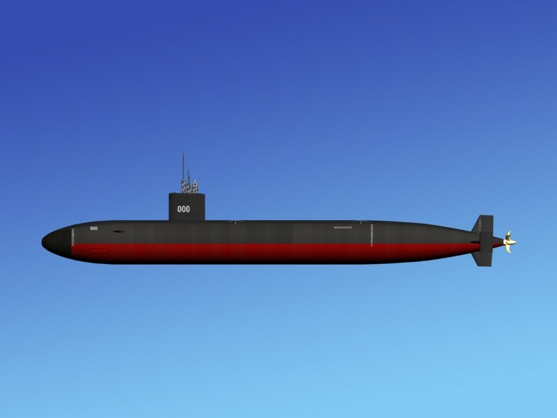 Los Angeles 688i Class USS Greenville SSN-772