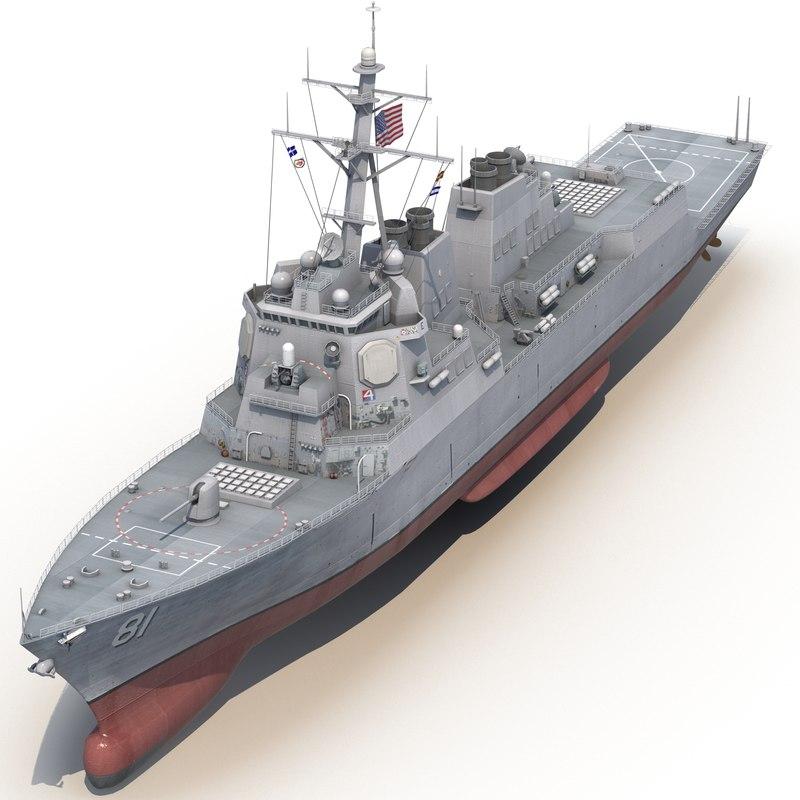 arleigh burke class destroyer max