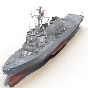 arleigh burke class destroyer max