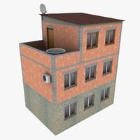 brick house 3d model