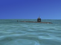 ship los angeles class submarine 3d ma