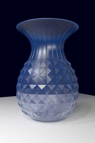 3d model crystal vase