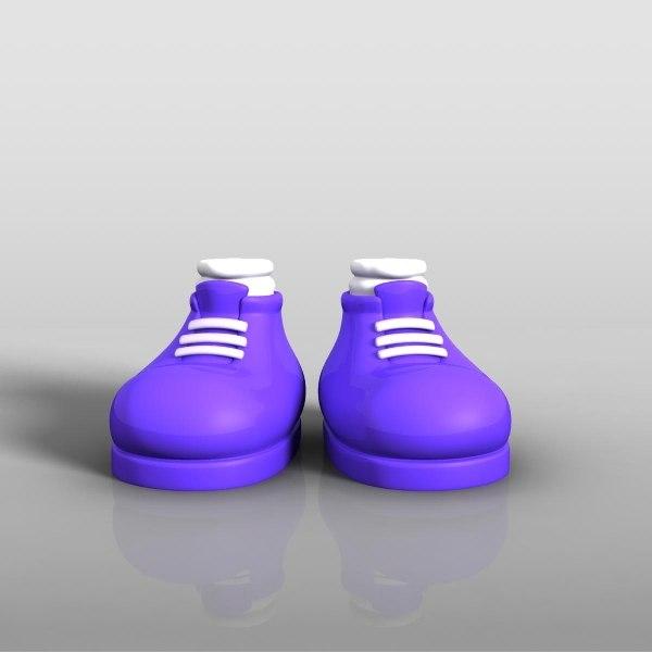 ma cartoon shoes