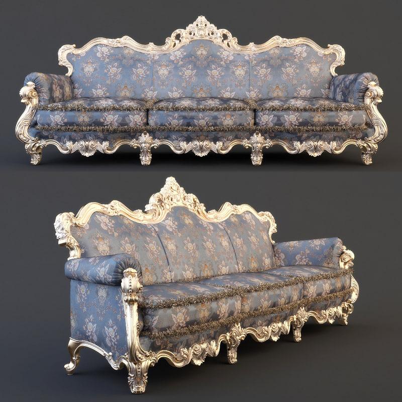 3d sofa cnc