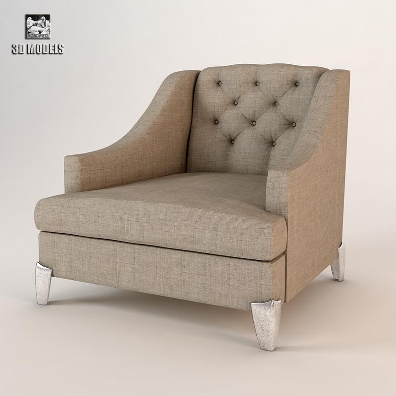 free max model armchair lamartin
