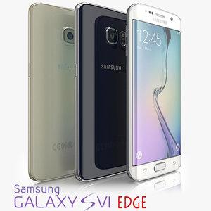 3d colors samsung galaxy s6 model