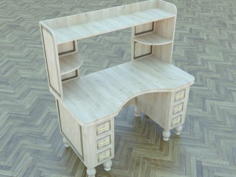 3d model classic table