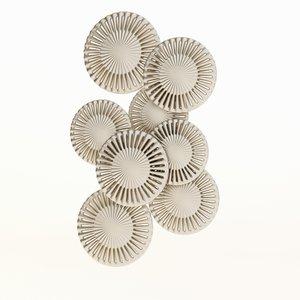 3d wall sculpture metal