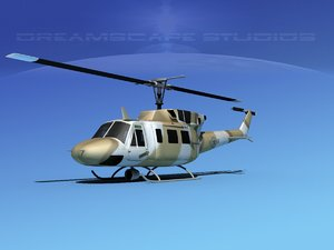 x uh1-n bell uh-1n helicopter
