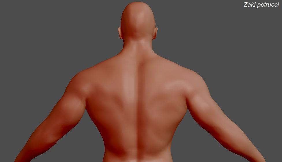 3d model male character