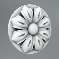 Carved rosettes 52