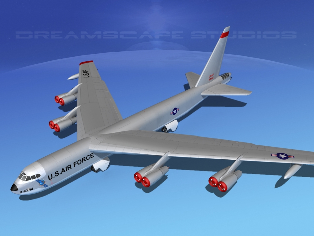 max stratofortress boeing b-52 bomber