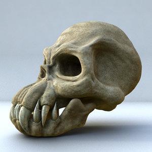 fantasy monster skull max