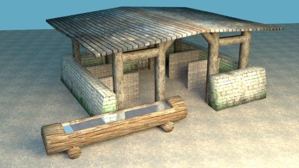 obj stable medieval