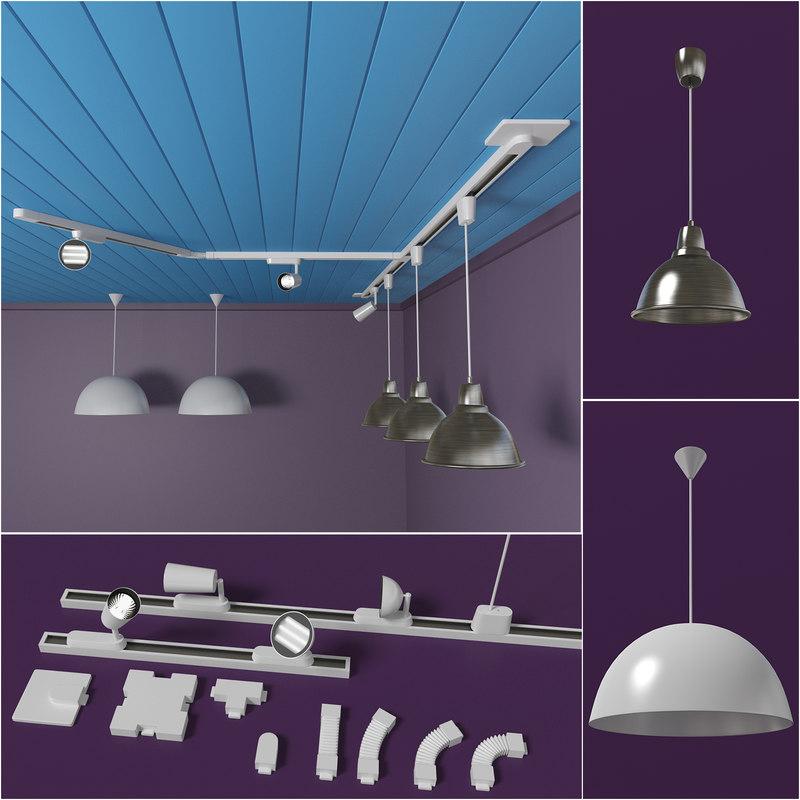 soffits ikea lamp 3d 3ds