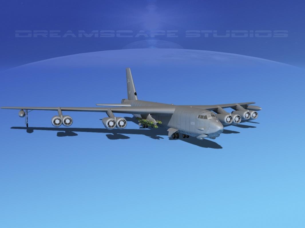 dwg stratofortress boeing b-52 bomber
