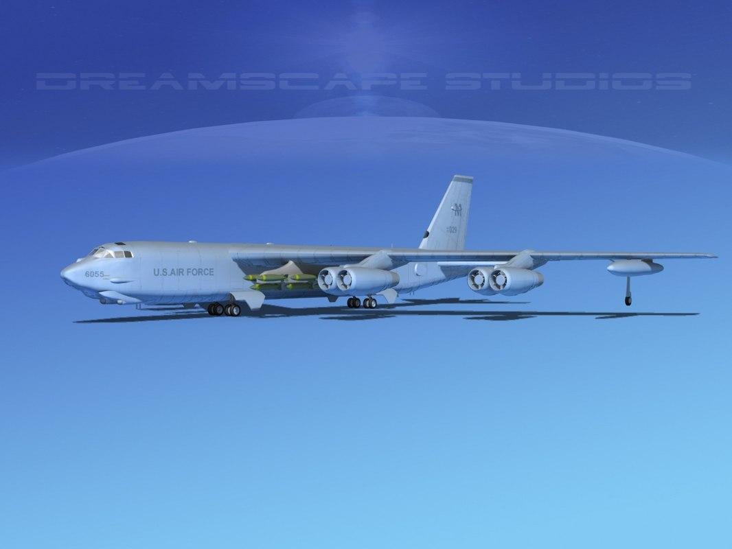 3d stratofortress boeing b-52 bomber