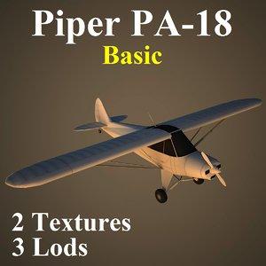 3d max piper basic