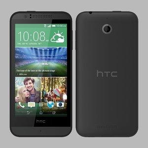 3d htc desire 510 model