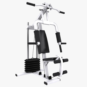 3d model multi gym