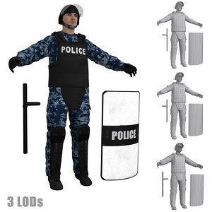 max riot police officer s