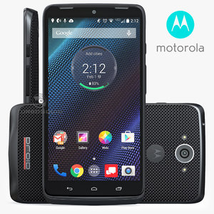 3d model of motorola droid turbo ballistic