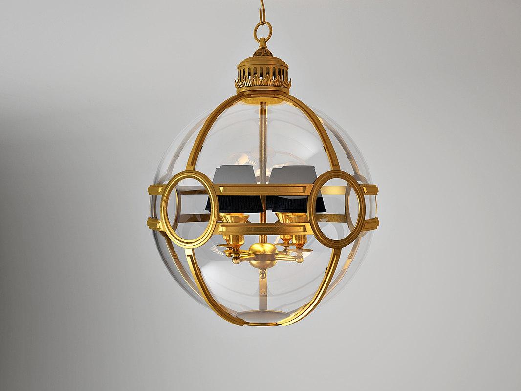 07114 lantern hagerty eichholtz 3d model