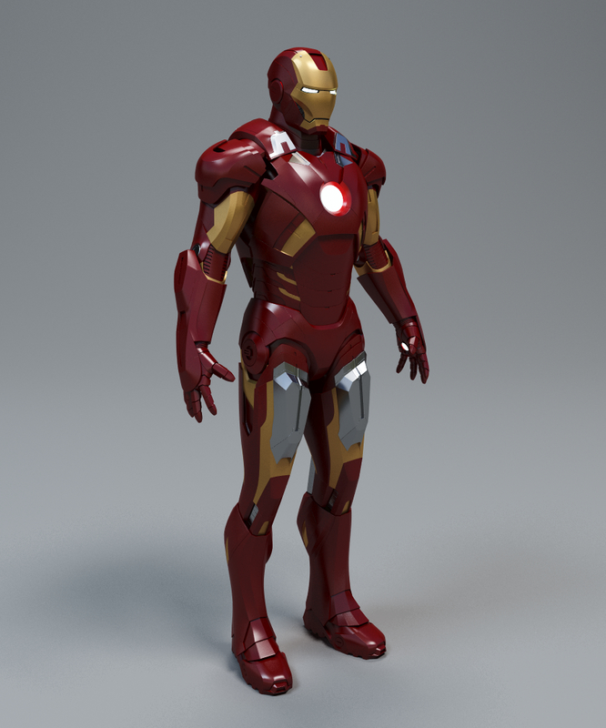 max iron man mark 7