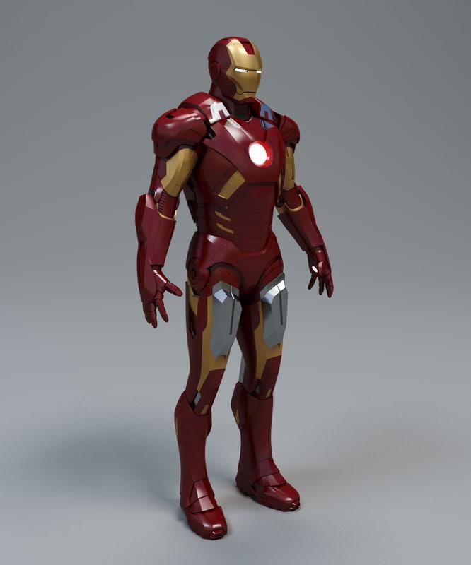 max iron man mark 7