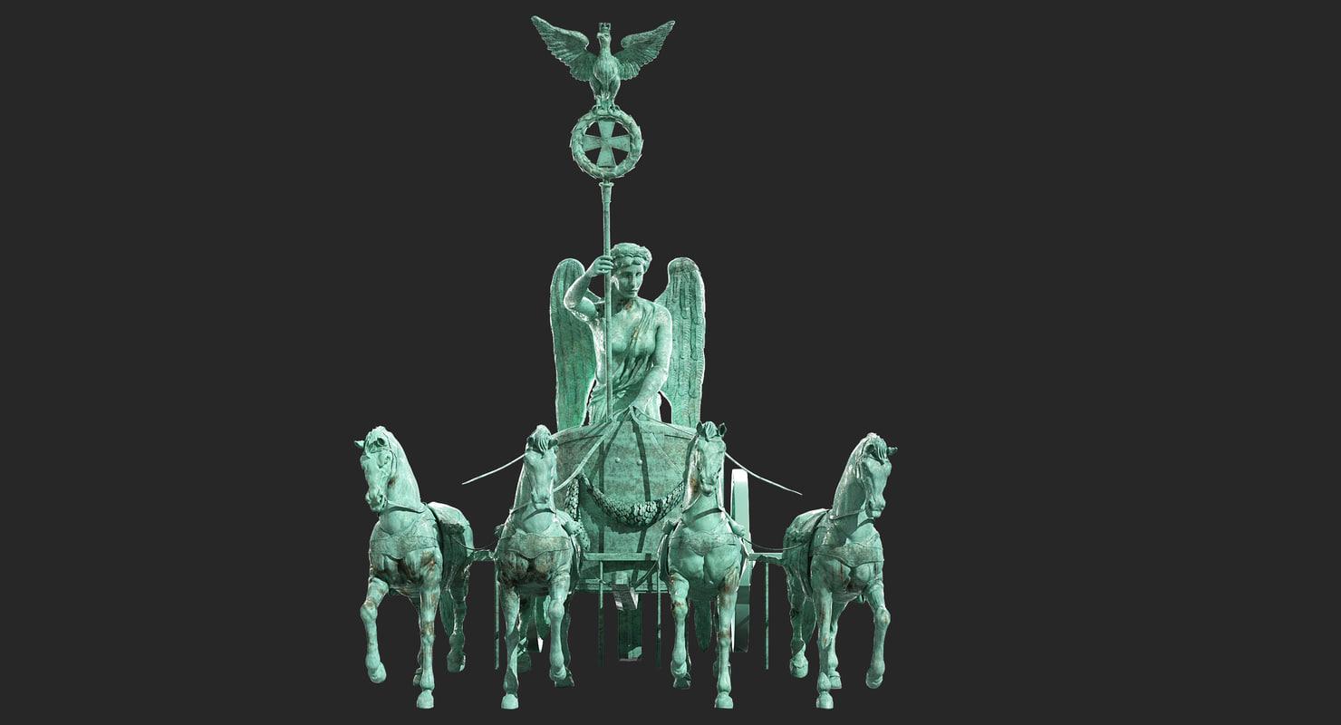 quadriga statue brandenburg gate max