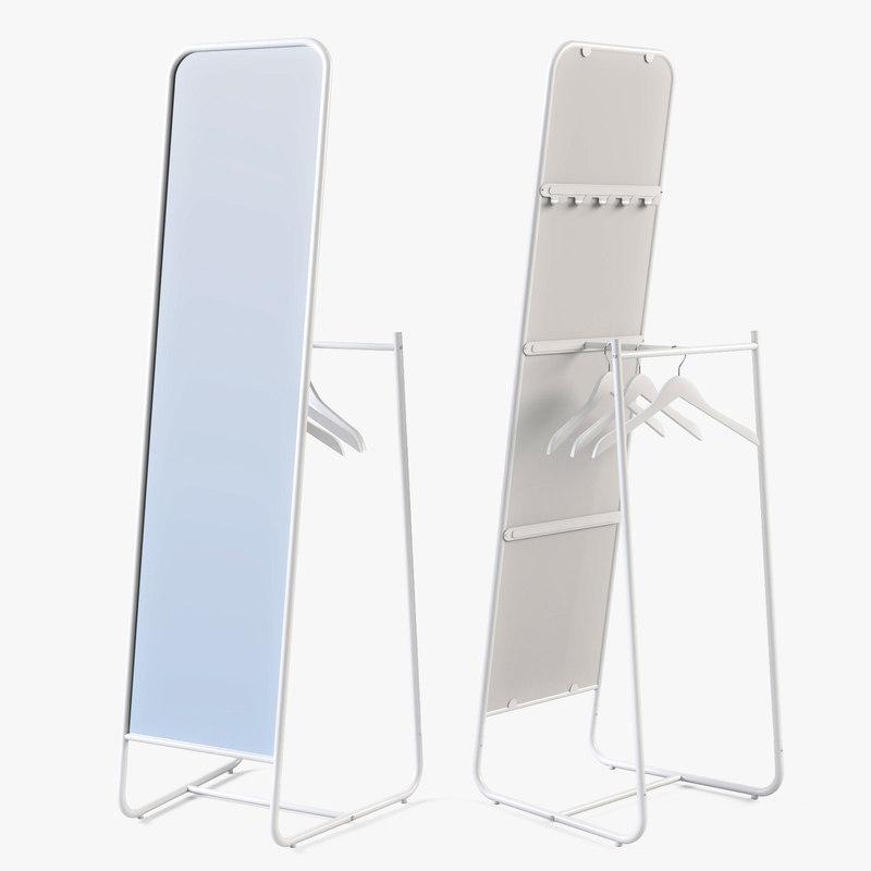 floor mirror ikea knapper obj