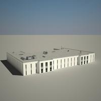 city building 3d max