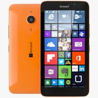 3d 3ds microsoft lumia 640 xl
